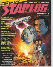 STARLOG MAGAZINE # 2 NOVEMBER 1976 STAR TREK SPACE: 1999 LOGAN'S RUN