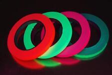 4 Pack Half Inch UV Blacklight Reactive Fluorescent Gaffer Tape 4 Rolls x 25 Yds