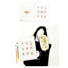Sanrio Gudetama Lazy Egg School Office Layer File Folder : White Eggs