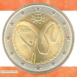 Sondermünzen Portugal: 2 Euro Münze 2009 Lusofonia Sondermünze zwei€ Gedenkmünze