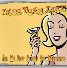 Less Than Jake - All My Best Friends Are Metalheads CD single