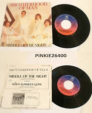 * BROTHERHOOD OF MAN *  MIDDLE OF THE NIGHT * 45 tour( 7'') 1978  VG+