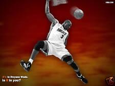 DWAYNE WADE MIAMI HEAT NBA GLOSSY POSTER