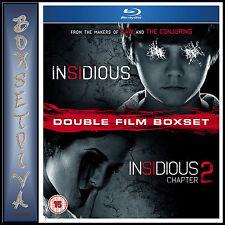 INSIDIOUS & INSIDIOUS 2 DOUBLE PACK  *BRAND NEW  BLU-RAY BOXSET *