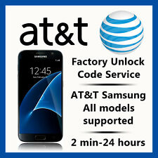 AT&T UNLOCK CODE SERVICE FOR SAMSUNG GALAXY NOTE 1,2,3,4,5,7,8 ACTIVE