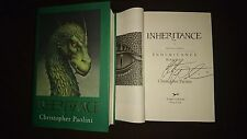New Signed Inheritance Book Four Christopher Paolini HC DJ 1/1 Vault of Souls