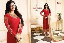 """Pakistani Indian Shalwar Suit Stitched Veste Style Pour Fête De Mariage XL-42"""""""
