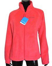Columbia June Lake Fleece Jacket Women's Medium M Pink Free Shipping Heavy Thick