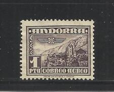 ANDORRA ESPAÑOLA. Año: 1951. Tema: TIPOS DIVERSOS.
