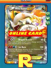 White Kyurem Ex - Regular - for Pokemon TCG Online ( digital ptcgo in Game Card)