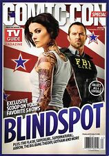 TV GUIDE COMIC-CON SPECIAL EDITION 2016 - BLINDSPOT COVER - NEW - FREE SHIP!