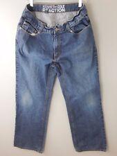 KENNETH COLE REACTION Jeans Boot 34 X 30 Pants Blue Denim Men's  -