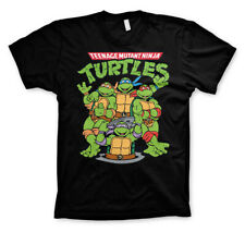 Teenage Mutant Hero Turtles Classic Poster Official Tee T-Shirt Mens