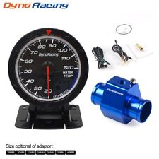 Dynoracing 60MM Car Water Temperature Gauge 20-120 Celsius With Water Temp Joint
