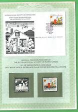 #JJ.  1983 SOCIETY OF POSTMASTERS FDC & SILVER REPLICA -  MACAU