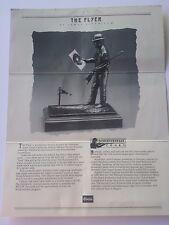 """""""The Flyer"""" a bronze schuetzen statue"""