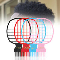 Afro Twist Comb Black Red Blue Pink Twist Your Hair in Minutes Styling Comb-