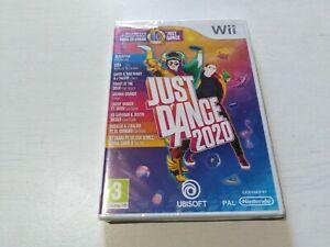Just Dance 2020 Nintendo Wii Pal Español Completo NUEVO Precintado
