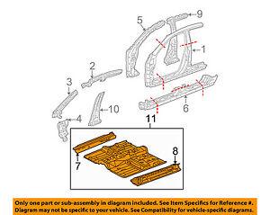 Acura HONDA OEM 2004 TL-Floor Pan Assembly 65100SEPA00ZZ