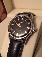 Longines Conquest Black Dial Heritage Automatic Men's Watch L1.611.4 Full Set