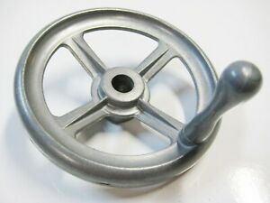 "Craftsman Contractor Table Saw Metal Hand Wheel  Crank Handle 1/2"" Shaft"