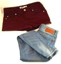 Girls Cotton On Shorts & Pipping Hot Denim Jeans Skinny GC Pre Owned