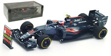 SPARK S5024 McLaren MP4-31 2016 &' 300 GPS PITBOARD' - Jenson Button SCALA 1/43