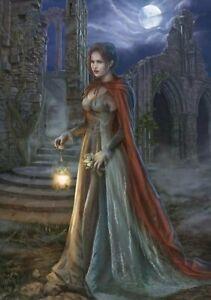 Waiting In The Dark - 1000 piece puzzle / cris ortega, fantasy art