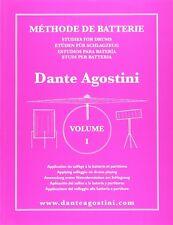 Metodo per Batteria Dante Agostini Spartito Musicale solfeggio e partiture
