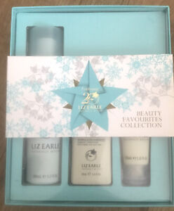 LIZ EARLE NATURALLY ACTIVE GIFT SET BEAUTY FAVOURITES COLLECTION COTH, LOTION...
