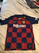 Messi FC Barcelona Jersey - Size Adult Large