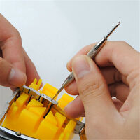 Watch Band Spring Bars Strap Link Pins Remover Repair Kit Tool Watchmaker WYG