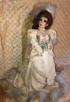 Franklin Mint Heirloom Porcelain Doll by Maryse Nicole 1991