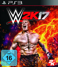 PS3 Game WWE 2K17 World Wide Wrestling 2017 Wrestling