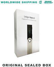 LEDGER NANO S Hardware Wallet - BITCOIN - ETHEREUM - LITECOIN - DASH - RIPPLE
