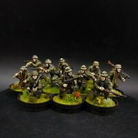 Pro Painted 28mm Bolt Action German fallschirmjager (Plastic) ×10 squad #1 Ww2