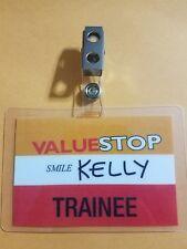 Ash vs Evil Dead ID Badge Valuestop Trainee Kelly cosplay costume Army Darkness