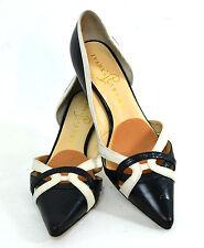 ELEGANT Ivanka Trump Women's Shoes BLACK Genuine Leather Size 6 M EXCELLENT