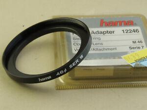 NEUF - Bague pour filtre série 7 sur obj. avec pas de vis 46mm - Step ring M46