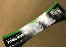"2015 TOMB RAIDER  ( Xbox ONE ) - VIDEO GAME POSTER -    35 3/4"" X  7 1/2"""