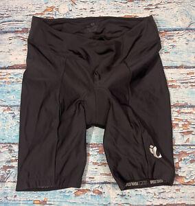 Womens PEARL IZUMI SELECT Padded Cycling Shorts Black Compression Stretch XL