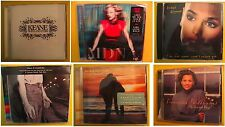 6 CD LOT Keane Madonna Sinead O'Connor Barbra Streisand Vanessa Williams & MORE