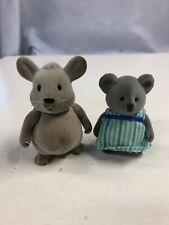 Lil Woodzeez Koala Mouse Lot 2 Pcs Figures Only H