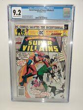 DC Secret Society Of Super-villains #2 Cgc 9.2 1967 FREE SHIPPING
