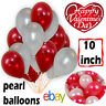 "10-100, Pearl LATEX BALLOONS, 10"", Helium Birthday, Wedding, valentine party"