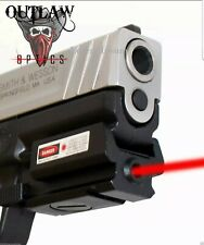 Outlaw Optic Red dot laser sight Smith Wesson sd9ve sd40ve w Lifetime Guarantee!