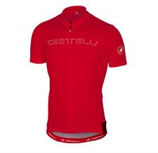 Castelli Men's Prologo V Jersey Cycling Size Large Red New