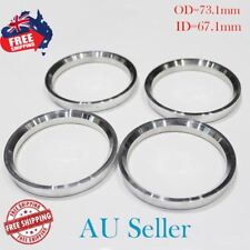 OD=73.1mm ID=67.1mm Wheel Hub Centric Rings Spacer Aluminum Alloy - AU 4PC