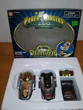 1996 Bandai Toy Power Rangers Gold Ranger Zeo - Zeonizer Device 1 & 2 & Box