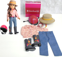 American Girl Doll Clothes Saige PARADE OUTFIT & COWBOY RIDING HAT Boots Jeans +